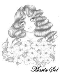 Lilies by Marahia