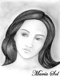Peaceful Woman by Marahia