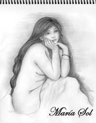 Peaceful smile by Marahia