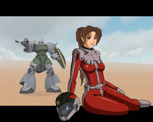 Greetings From Zeon by Damatee