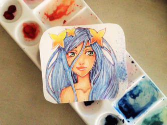 Blue by Kurumi-Asuka