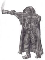 Carbine, warforged ranger by Kiirnodel