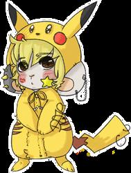 Pikachuche by Djpgirl