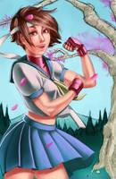 Sakura! - Commissions Open!~ by MarcCasper