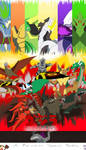 RT Arc 5: Legends of Kaiju MAIN POSTER by MasterofNintendo