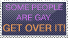 Some People Are Gay Stamp by Pooz18