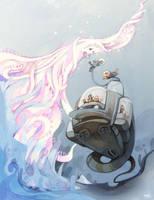 underwater odyssey by crounchann