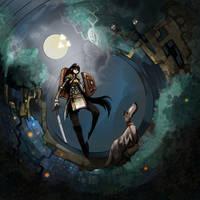 Sword and Sorcery by crounchann