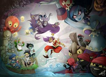 Shantae fanart by crounchann