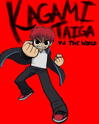 Kagami Taiga vs. the World by Unable-To-Sit-Still
