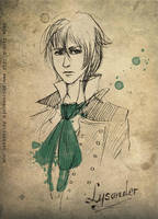 Lysander by shirowscafe