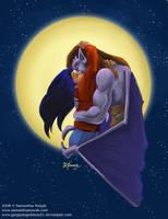Moonlight Kiss by GargoyleGoddess21