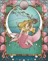 Nereid of the Blooming Sea by GargoyleGoddess21