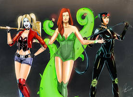 GOTHAM CITY SIRENS by marionstandre
