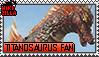 Titanosaurus Fan Stamp (@wikizilla.org) by The493Darkrai