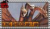 King Ghidorah Fan Stamp (@wikizilla.org) by The493Darkrai