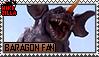 Baragon Fan Stamp (@wikizilla.org) by The493Darkrai