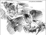 Naked   Interrogation by kindinov