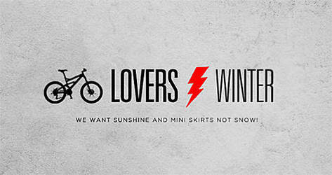 bikers in winter by another-modus