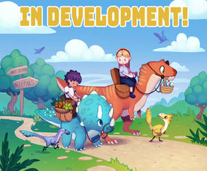 Dino Game Announcement! by Taluns