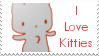 I Love Kitties Stamp by cotton-puppy