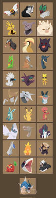 Pokemon Challenge by Immonia