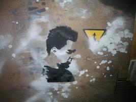 Mike Shinoda by SPAZwastaken