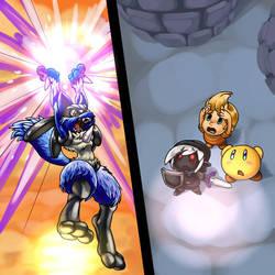 SPOILER-SSBB Final Smash by elazuls-core
