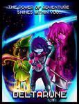 Deltarune The 3 Heroes by b1uewhirlwind