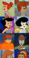 Cartoon Youth: The HB-Cartoon Girls by Hillygon