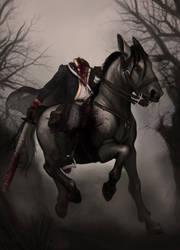 Headless Horseman by PixiePowderPuff