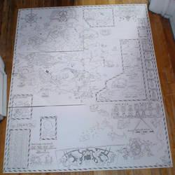 Palladium World Map by AberzombieLiche