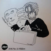 Inktober 2016 #6: Hidden by AberzombieLiche