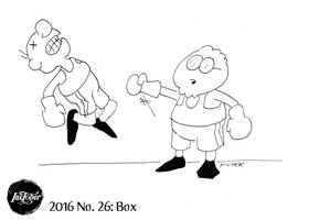 Inktober 2016 #26: Box by AberzombieLiche