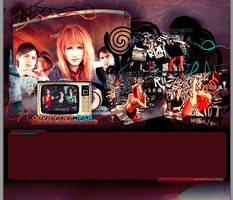 paramore layout by Wazzon