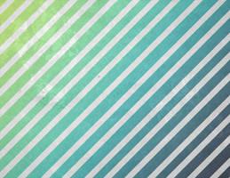 Blue Green Grunge Stripe by R2krw9