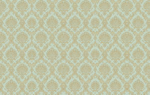 Teal Gold Damask by R2krw9