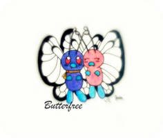 Ash's Butterfree by JamminJulie