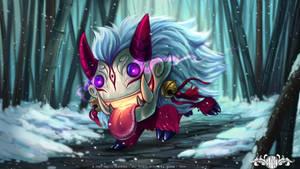 Snowdown contest - Poro Blood Moon by o0dzaka0o