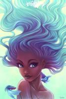 Blue Woman by o0dzaka0o