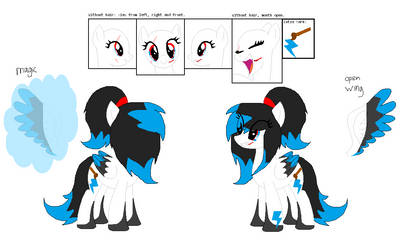 Blue Rainbow refence sheet (OUTDATED!!) by Marshmellow-Girl