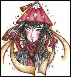 ToNE: |I'm Not Your Momotaro| (Amanita) by LaReina-QuyaKoroleva