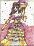 |Mademoiselle, la Reine des Roses| (Disney: Belle) by QuyaKillaLuna