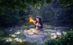 Lake fairy by MariaSemelevich