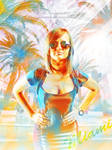 Miami Summer (color) by MariaSemelevich