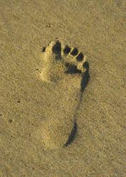 foot print by BL00DG0D