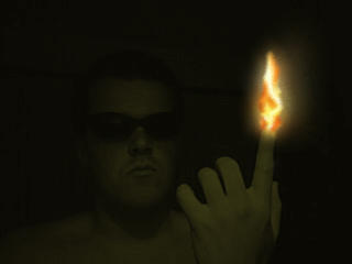 human torch by BL00DG0D