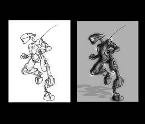 robot by BL00DG0D
