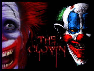the scary clown by BL00DG0D