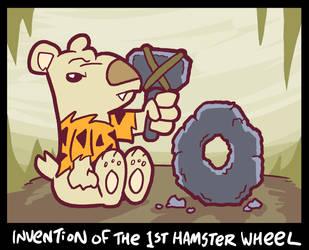 Hamster Wheel by waffledawg